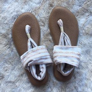 Sanuk yoga Mag sling sandals